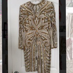 Naeem Khan Riazee Sequin Dress